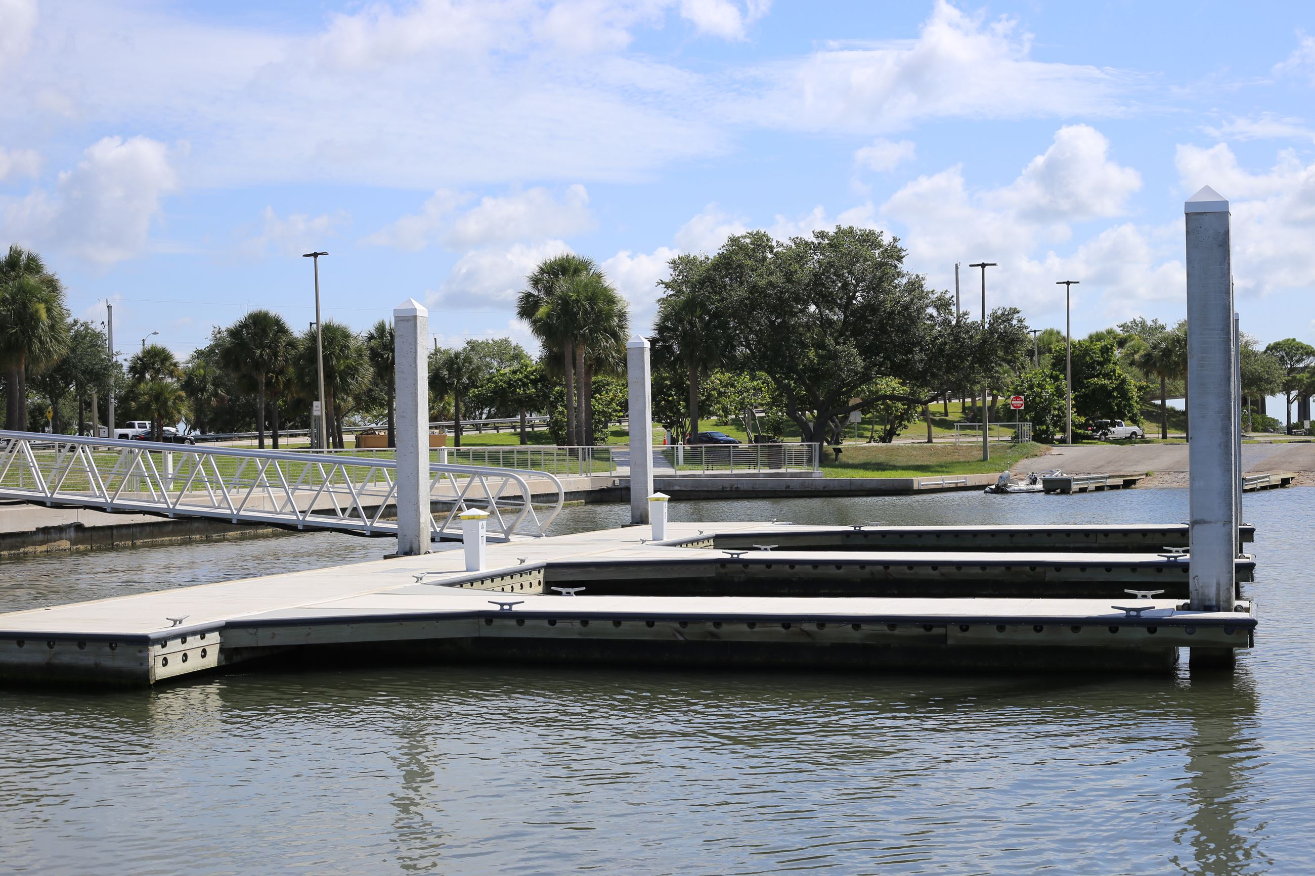 City of Cocoa t dock